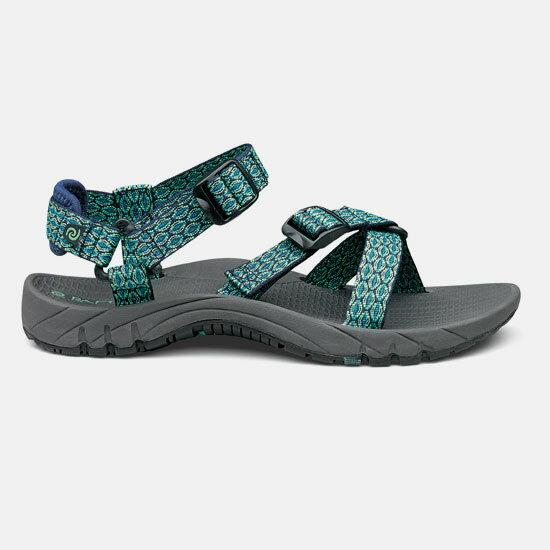 【露營趣】中和 美國 RAFTERS 70218R 藍綠女運動涼鞋 水陸鞋 海灘鞋 沙灘鞋 比keen價格優