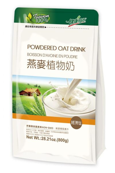 健康時代 燕麥植物奶(經濟包) 800公克/包