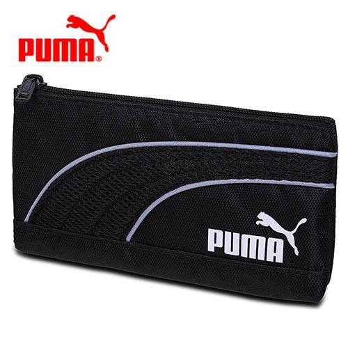 【日本正版】PUMA 扁筆袋 鉛筆盒 收納包 防潑水 - 041846
