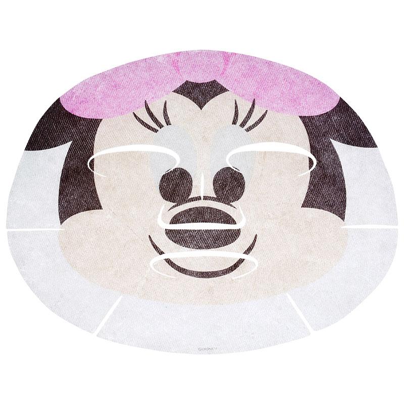 【真愛日本】16051400002  專賣店限定DN面膜-米妮大臉   迪士尼 迪士尼 米老鼠米奇 米妮   面膜 保濕面膜