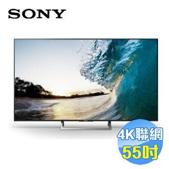 SONY 55吋日本原裝4K聯網LED液晶電視 KD-55X8500E 【送標準安裝】