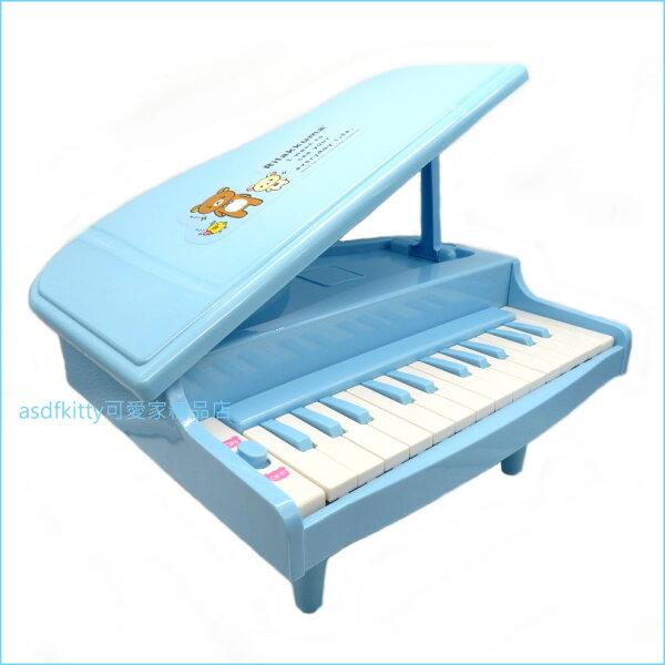 asdfkitty可愛家☆日本san-x拉拉熊鋼琴玩具-藍色-日本正版商品