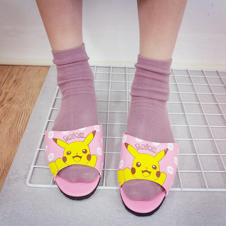 PGS7 日本卡通系列商品 - 日本 皮卡丘 Pikachu 成人 室內拖鞋 室內拖 拖鞋 神奇寶貝 寶可夢【SFV7035】