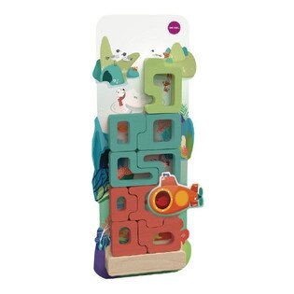 NANABABY:【新加坡Oribel-Vertiplay】創意壁貼玩具-MysticalAquarium神奇水族館#OR818