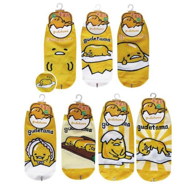 台灣三麗鷗 蛋黃哥直版襪 多款可選【櫻桃飾品】【B4003】