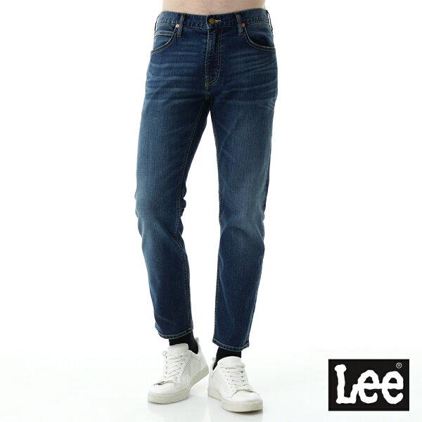 Lee Jeans tw:【2017秋冬新品全面8折】Lee牛仔褲726中腰標準小直筒牛仔褲-男款-深藍【單筆消費滿1000元全會員結帳輸入序號『CNY100』↘折100