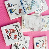 凱蒂貓週邊商品推薦到三麗鷗Sanrio Hello Kitty 繽紛彩繪款 吸水珪藻土杯墊 8款任選