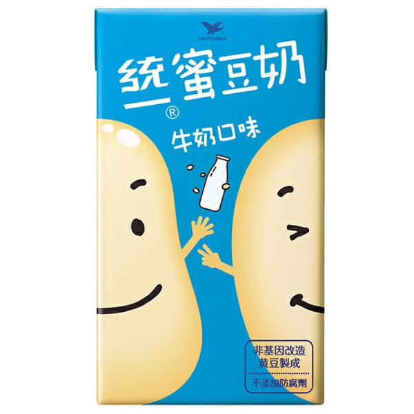 統一 蜜豆奶 牛奶口味 250ml (6入)/組【康鄰超市】