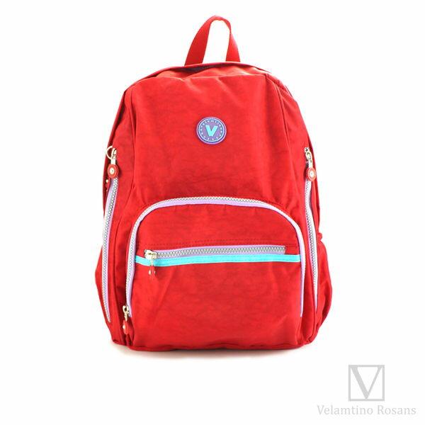 【加賀皮件】Velamtino 多色 配色輕量防水 多收納 運動登山包 休閒包 後背包 A880-12302