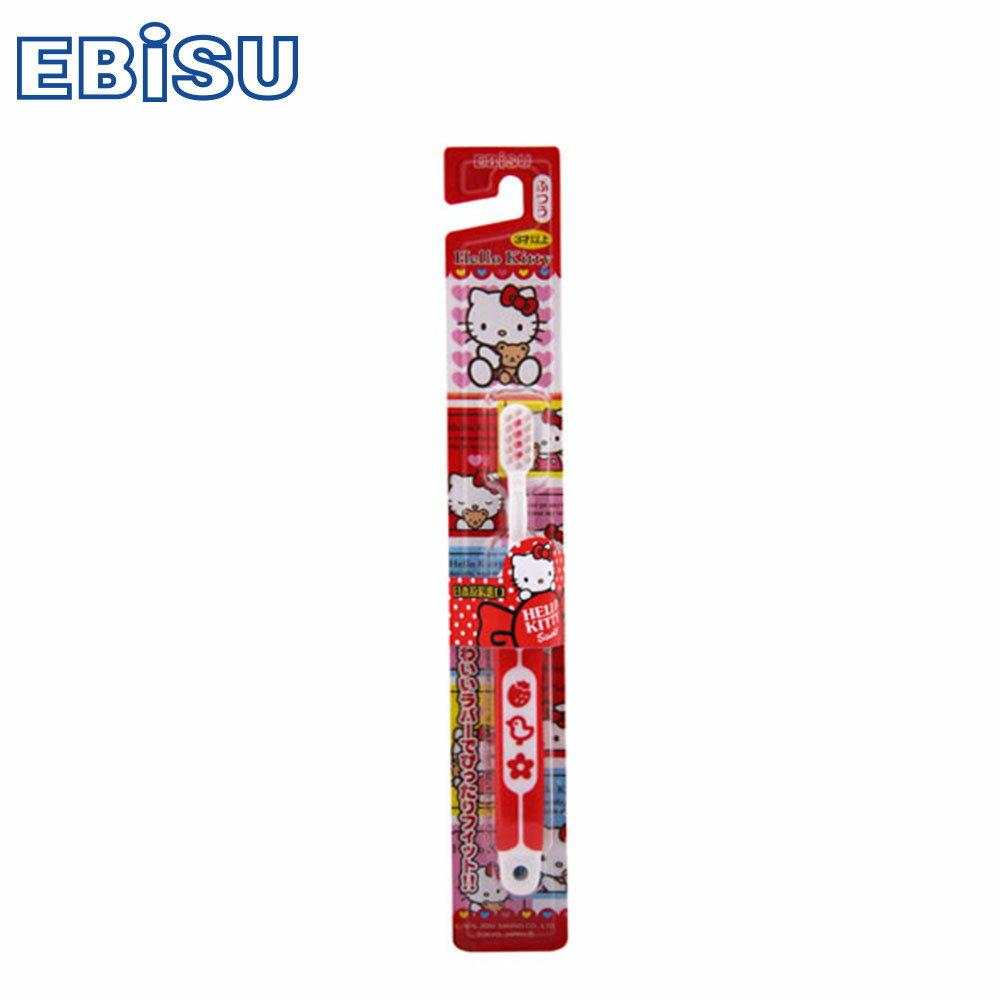 【EBiSU】Hello Kitty軟柄兒童牙刷