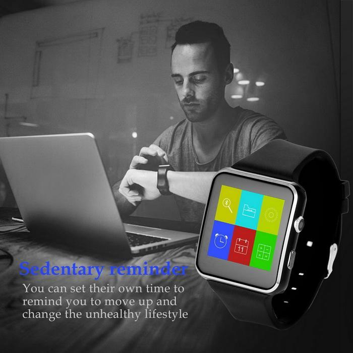 Bluetooth Smart Wrist Watch Phone Mate Touch Screen Support For Android/IOS 4