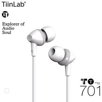 TiinLab TBass of TFAT TT 低音 系列 TT701 周杰倫 調音 入耳式 耳機【白】