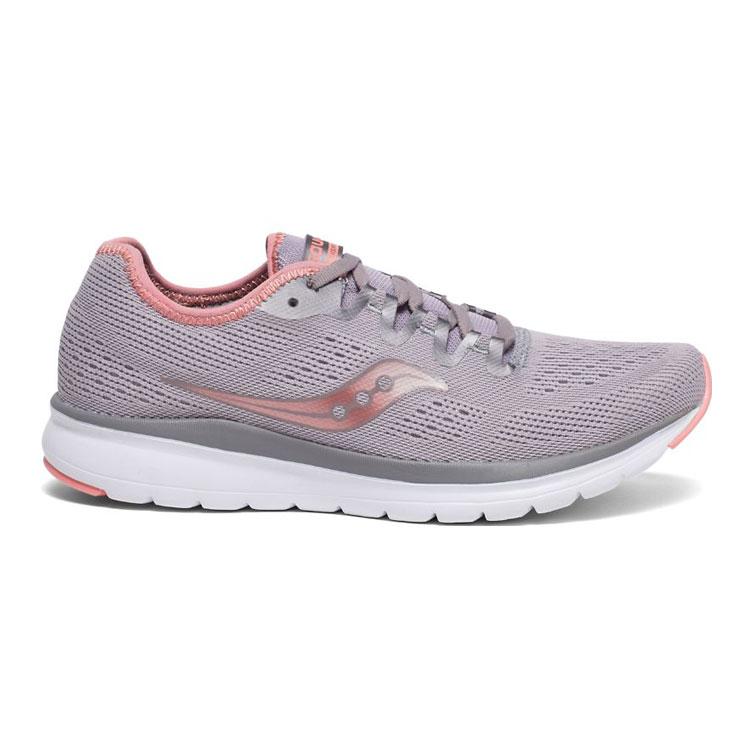 saucony 女 FLARE 運動鞋SY30034-2【灰粉】  /  城市綠洲 (跑鞋、運動鞋、EVERUN) 1
