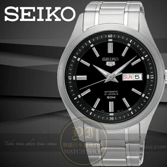 SEIKO 精工5號盾牌自動上鏈機械腕錶7S26~04M0D  SNKN89J1 貨