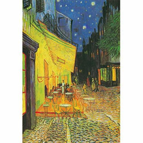 【P2 拼圖】世界名畫系列 梵谷-夜晚的露天咖啡座 1000片 HM1000-135