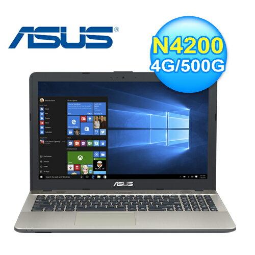 Asus 華碩 X541NA-0021AN4200 15.6吋四核心筆電 神秘黑 N4200/4GB DDR3/500G【三井3C】
