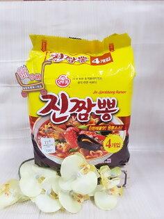 不倒翁金螃蟹拉麵(四入裝)520g袋