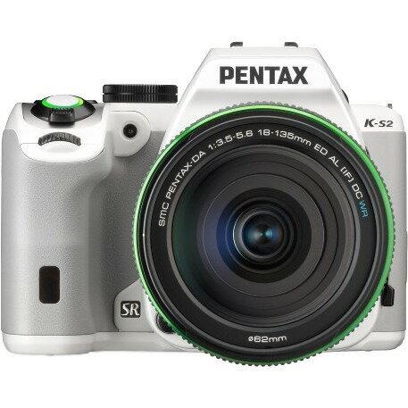 Pentax K-S2 DSLR Camera with 18-135mm Lens (White) 0