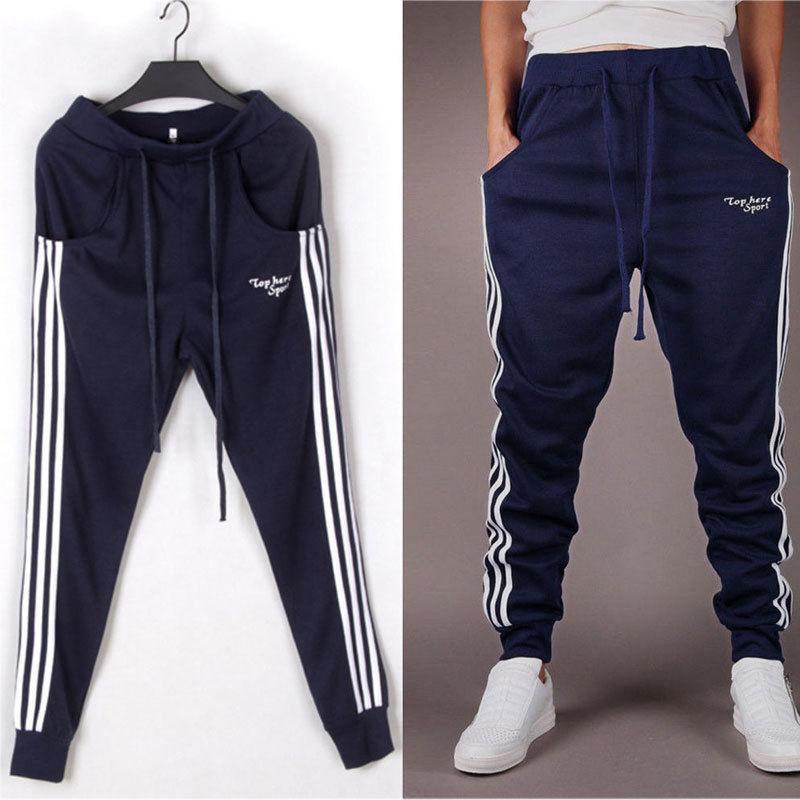 acf9f19008f Men Long Casual Sport Pants Gym Slim Fit Trousers Running Jogger Gym  Sweatpants 0