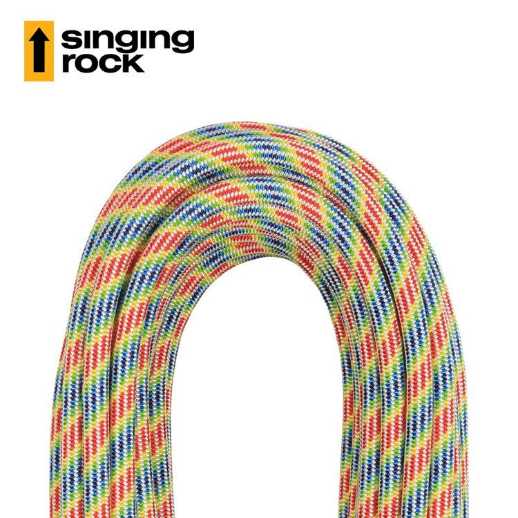 Singing Rock 10.1mm防水動態繩L0534AG Mystic10.1 DRY (1公尺)  /  城市綠洲(捷克品牌.耐磨.攀爬.繩索) 1