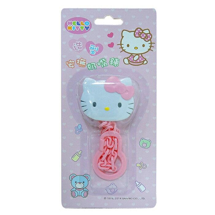 佳美 - Hello Kity凱蒂貓造型安撫奶嘴鍊