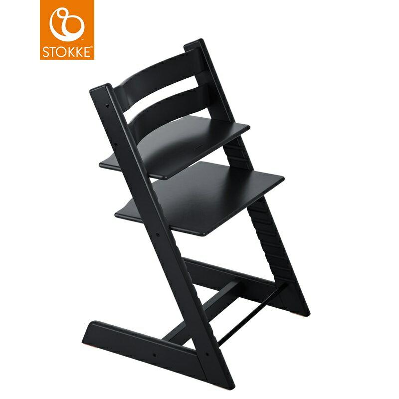 挪威【Stokke】Tripp Trapp 成長椅(黑色) 0