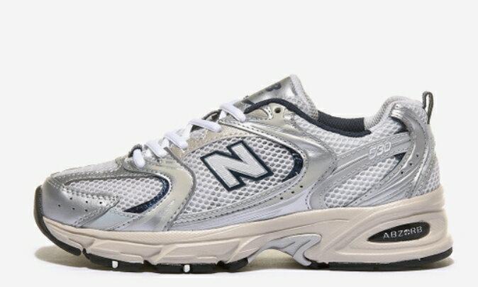 帝安諾-實體店面 NEW BALANCE 530 白銀 黑 藍 奶油底 復古 慢跑鞋  男女鞋MR530KA  MR530KC►超取399免運