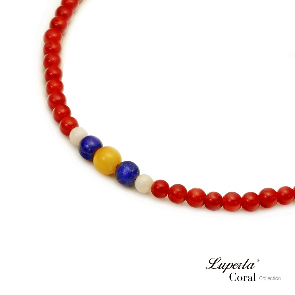 大東山珠寶 頂級天然全紅珊瑚 3mm  216顆 持珠念珠-青金石 硨磲 黃玉隨 2