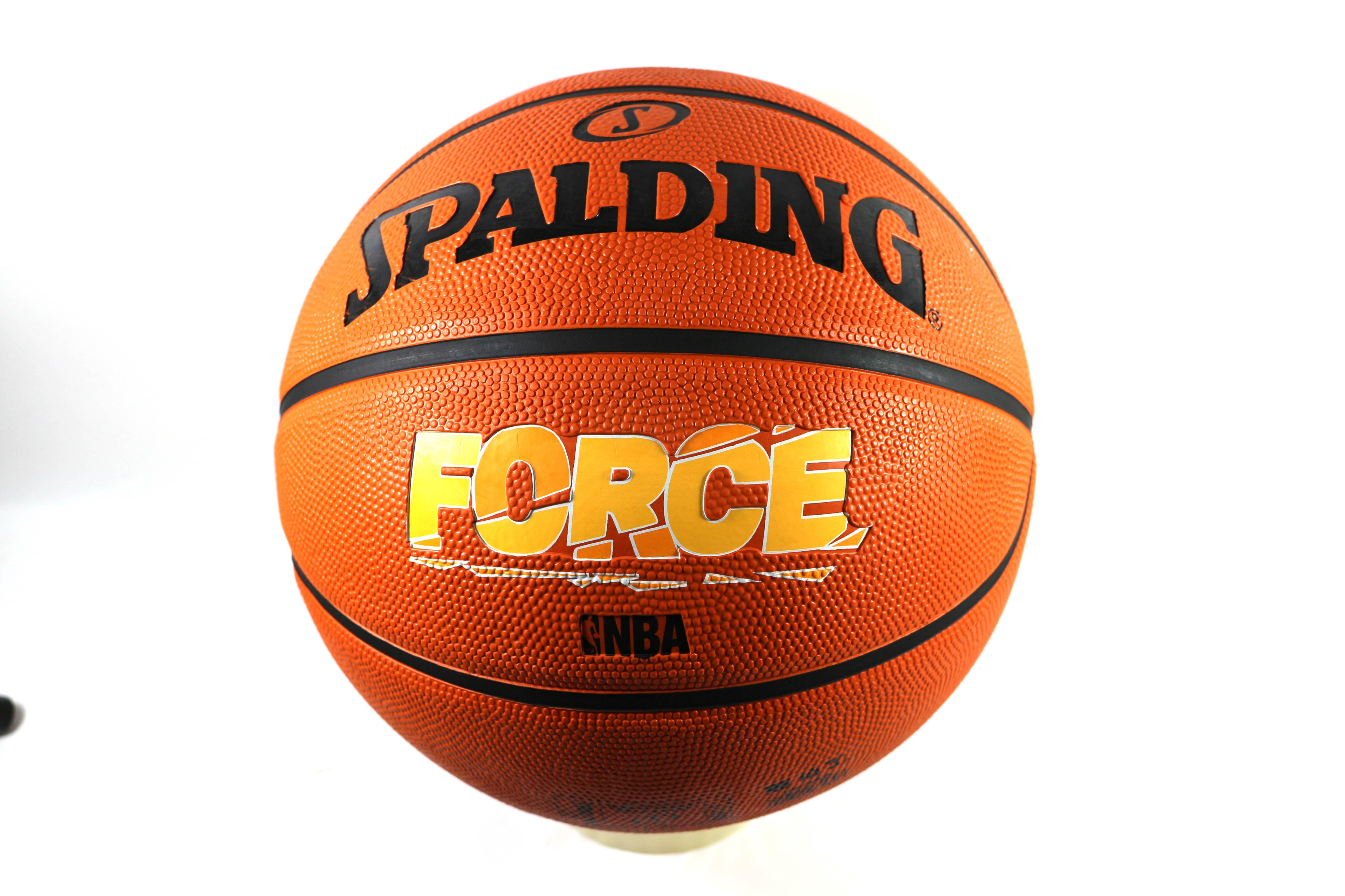 [陽光樂活]斯伯丁 SPALDING NBA籃球 Force Rubber 系列 專業橘-7號球 SPA83179 #7