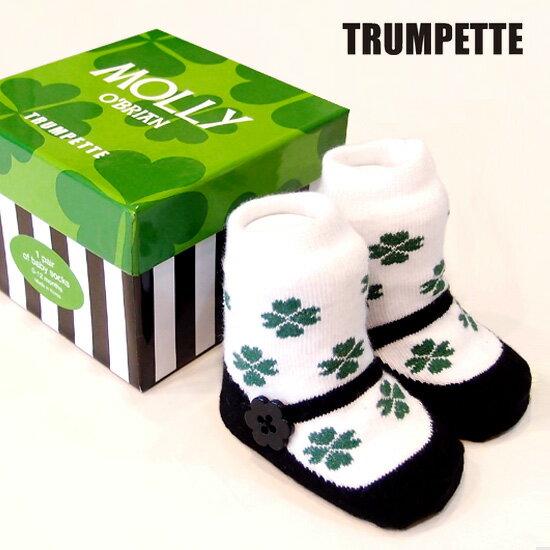 pregshop孕味小舖《美國Trumpette》嬰兒襪子單入-幸運女孩