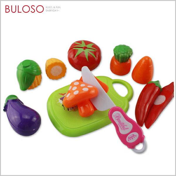 《不囉唆》食物切切樂玩具套組玩具烹飪組廚房家家酒(不挑色款)【A427806】