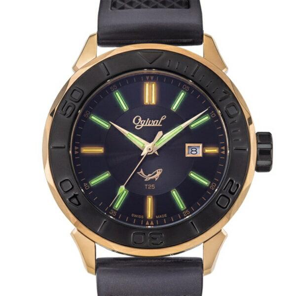 Ogival 愛其華 8005TGR 氚氣燈管錶 44mm