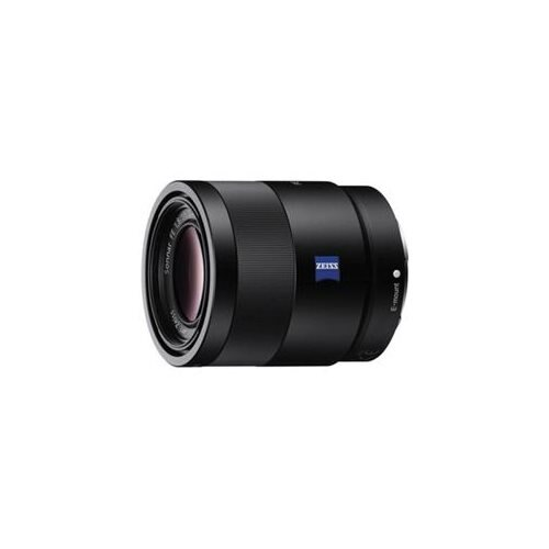 "Sony Sonnar T* SEL55F18Z - 55 mm - f/1.8 - Mid-range Zoom Lens for Sony E - 49 mm Attachment - 0.14x MagnificationOptical IS - 2.5""Diameter 1"