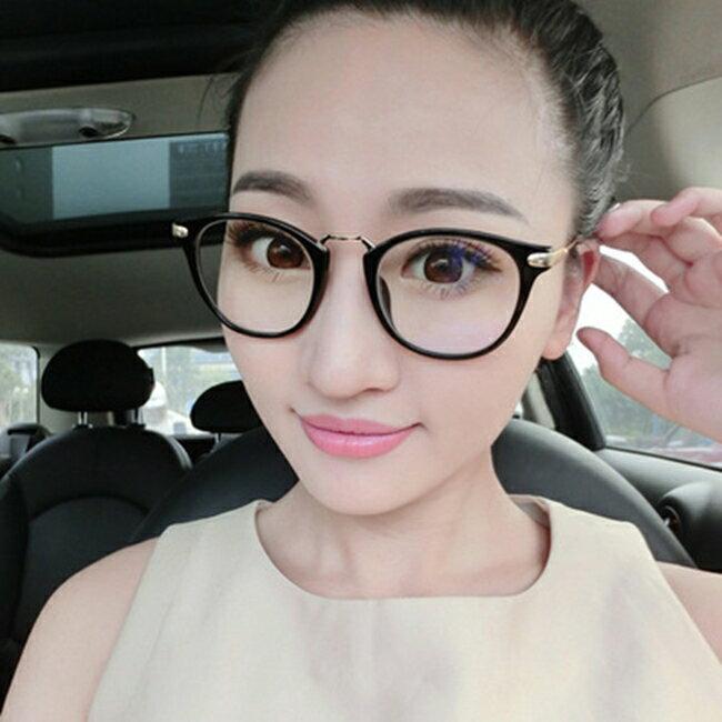 《全店滿588折50》50%OFF【J020079GLS】新款復古眼鏡框潮9355金屬文藝範眼鏡架廠家框架眼鏡批發 - 限時優惠好康折扣