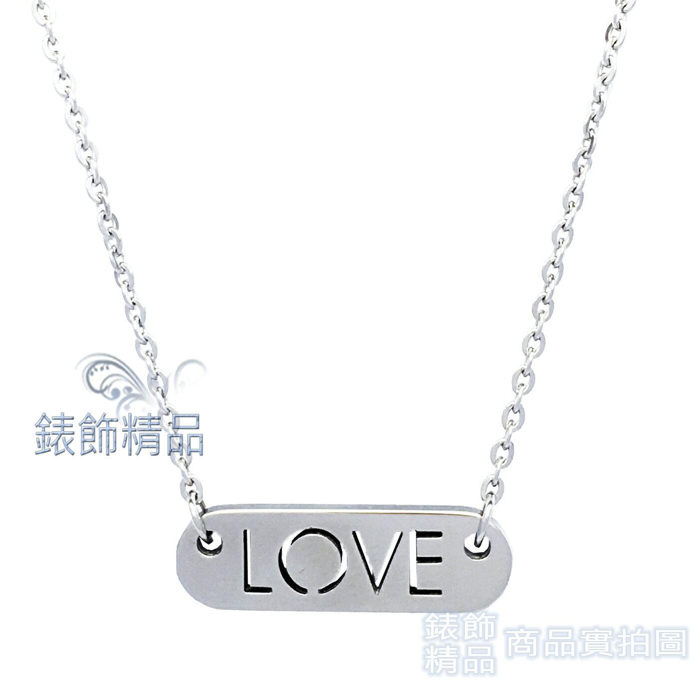 【錶飾精品】CK飾品 KJ7CMN000200 ck LOVE女性項鍊-銀Calvin Klein 316L白鋼