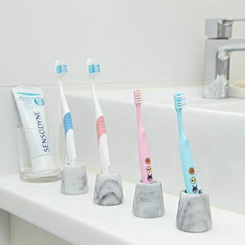 大理石牙刷架(4入組)