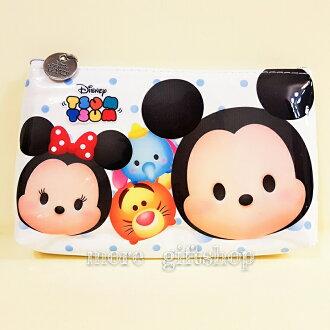 【more 禮品小舖】迪士尼Tsum米奇米妮筆袋、萬用袋