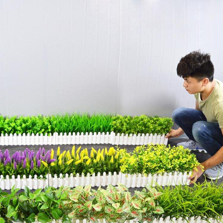 仿真植物假盆栽擺件小擺設綠植盆景塑料植物室內裝飾品花臥室客廳  HM 居家物語