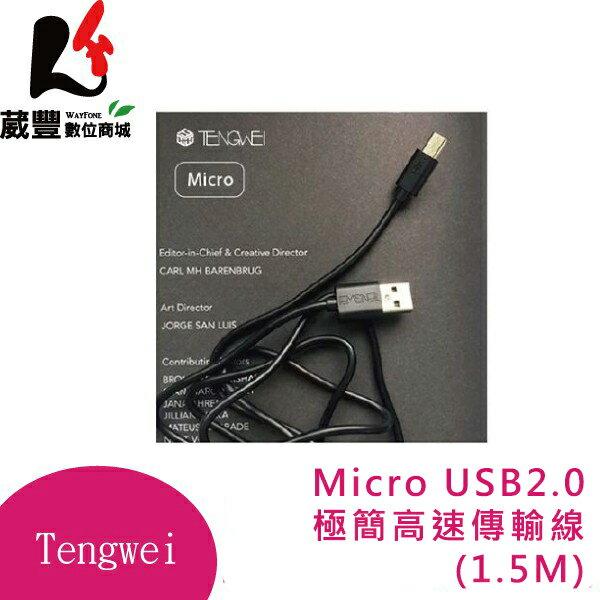 ✿6月APP限定單筆消費滿$6000領券折$500✿Tengwei Micro 極簡高速傳輸線/充電線 (1.5M)