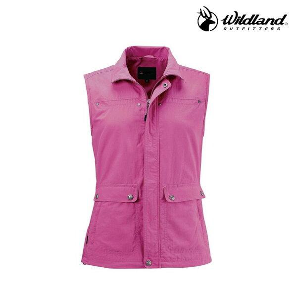 WildLand中性透氣抗UV休閒背心W1707(S~2L)城市綠洲(荒野、旅遊、釣魚、休閒)