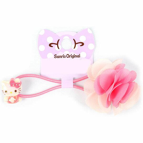 X射線~C637166~Hello Kitty 髮束~花,髮飾  髮夾  髮圈  髮箍