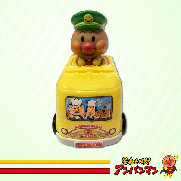麵包超人JANP車車玩具兒童玩具日本進口正版1179212