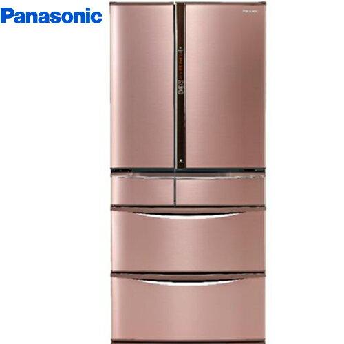 Panasonic 國際 NR-F602VT-R1 日本製冰箱 601L  玫瑰金 無邊框