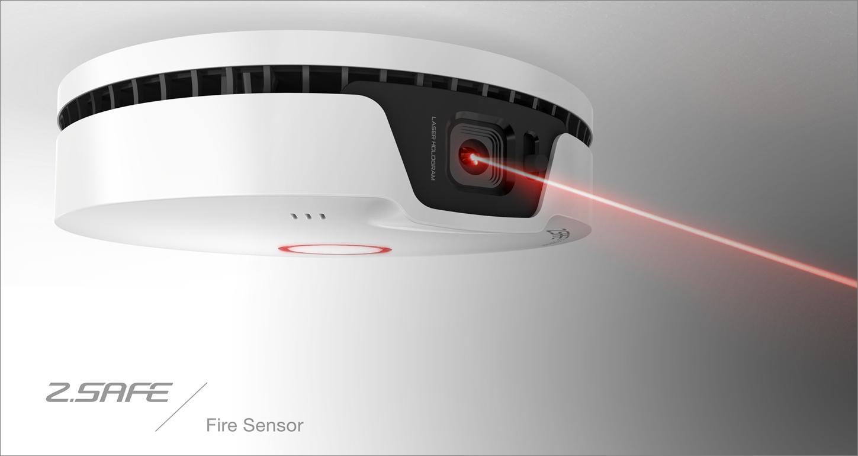 2個 原價5660 限量100組 獨立式 火災煙霧偵測警報器 3D影片