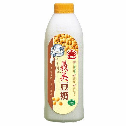 義美古早傳統豆奶1000ml【愛買冷藏】