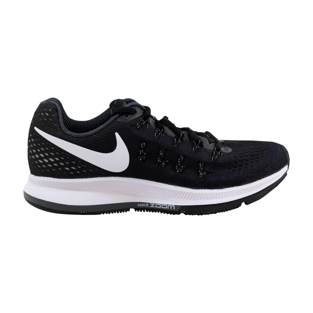 71c8663e204b Kixrx  Nike Air Zoom Pegasus 33 Black White-Anthracite-Cool Grey ...