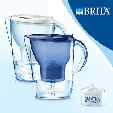 [淨園] 德國BRITA 3.5L馬利拉記憶型濾水壺XL【內含一支濾芯】-大容量,居家、辦公皆適用