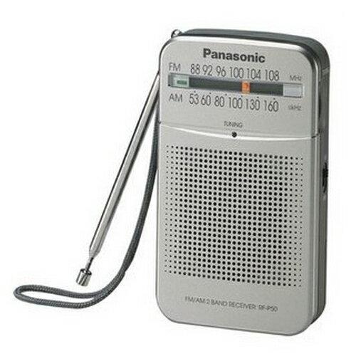 【Panasonic ● 國際】 FM/AM收音機二波段選台 RF-P50 **免運費**