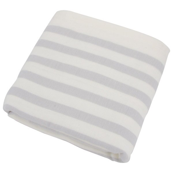 純棉紗布大浴巾 BORDER LGY 68×140 NITORI宜得利家居 0