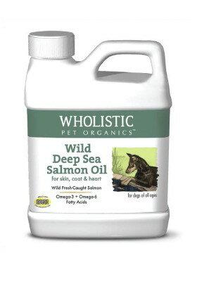 Wholistic Pet Organics 護你姿 野生深海鮭魚油 犬 4oz 4盎司